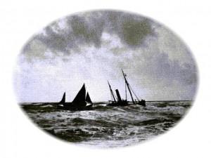 S.T. Dorothea aground