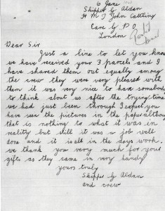 Skipper Aldan letter