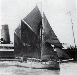 Sailing Trawler Desdemona