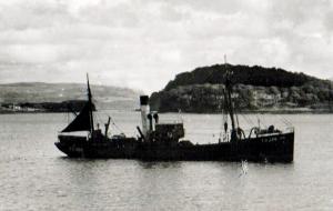 S.T. Gava FD380 in Tobermory Bay
