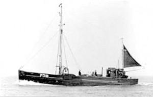 Sailing Trawler Harriet FD111