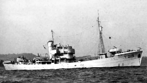 S.T. Royal Marine FD63 as HMT Butser