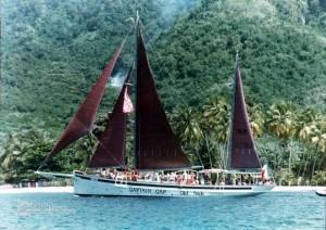 Captain Cap at Martinique
