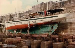 Captain Cap, Martinique
