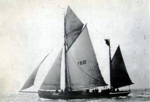 Sailing Trawler Louie Rigby