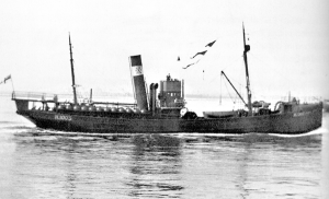 S.T. Shackleton FD409 as a minelayer