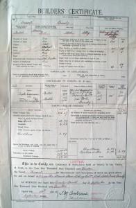 Frascati Builers Certificate
