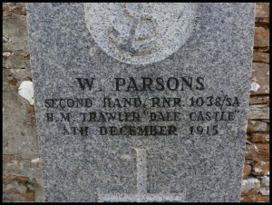 William Parson's grave
