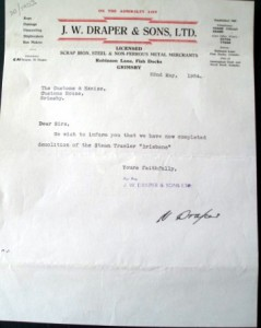 Scrap Certificate